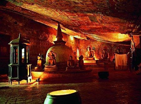 Sri Lanka, Dambulla koobastempel