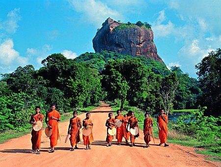 Sri Lanka, Sigiriya kaljukindlus