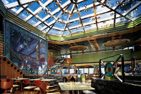 Carnival Triumph, South Beach Club, Lido Restaurant